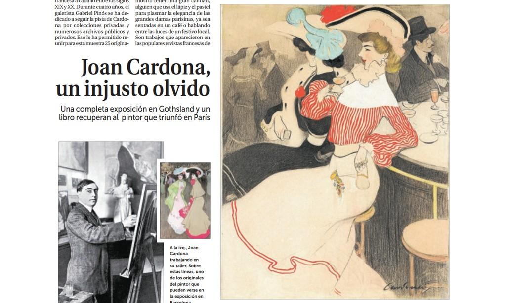 La Razón - Joan Cardona, un injusto olvido